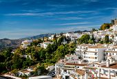 picture of charming  - Charming little white village of Mijas - JPG