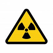 picture of reactor  - The radiation icon - JPG