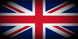 picture of union  - vignetted flag of the UK aka Union Jack - JPG
