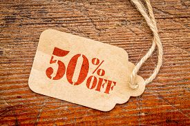 picture of fifties  - fifty  percent off discount   - JPG