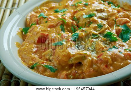 Chicken In An Indian Style