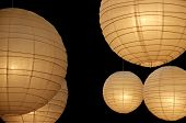Balloon Paper Lamps Horizontal