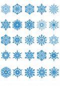 Snowflake. Vector.
