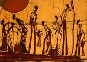African People Batik