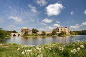Medieval Castle Of Leeds, In Kent, Uk