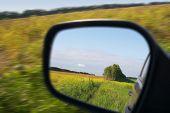 drive across the field