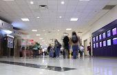 airport hallway
