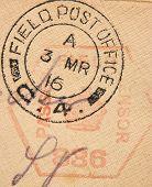 British Military Postmark