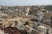 Roofs Of Fez In Morocco