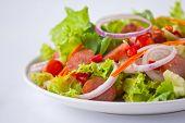 thai sausage salad spicy-sour dressing poster
