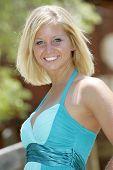 blond model - girl next door style