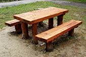 Wooden Picnic Site