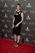 LOS ANGELES - JUL 22:  Rachel Griffiths arrives at the Neil Lane Bridal Collection Debut at Drai's a
