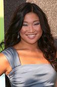 LOS ANGELES - JUL 27:  Jenna Ushkowitz arrives at Fox's