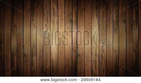 Постер, плакат: Коричневая текстура древесины с естественной модели, холст на подрамнике