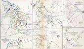 Map Of Battles Of Stones River, Murfreesborough