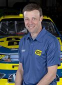 Concord, NC - January 09:  NASCAR Champion, Matt Kenseth (17), and his Best Buy Ford Fusion at Roush