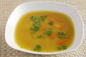 vegetarian vegetable soup with cream