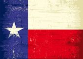 Texas grunge flag. The flag of Texas with a texture for you. Enjoy !