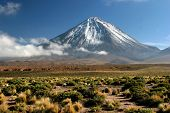 View Of Volcano Licancabur, Chile