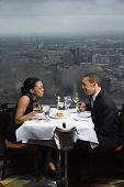 Couple Having Dinner.