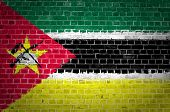 Brick Wall Mozambique