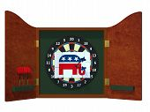 Political Darts - Republican