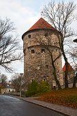Fortress Tower In Tallinn