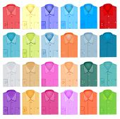 Set Of Plain Shirt Dress Shirt For Men