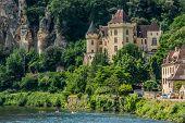 chateau de la mallantrie  village of La roque gageac dordogne perigord France