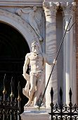 picture of arsenal  - View of the Neptune Statue on the Arsenal gate - JPG