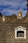 Napoli Chiesa Del Gesu Nuovo And The Sky