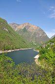 Verzasca Reservoir,Verzasca Valley,Switzerland