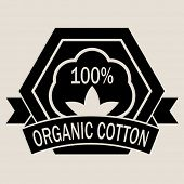 100% Organic Cotton Seal