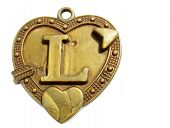 Heart shaped old pendent