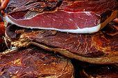 Pieces Of Smoked Pork Bacon-3