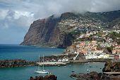 Camara De Lobos en la isla de Madeira
