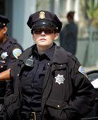 weibliche cop