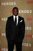LOS ANGELES - DEC 2:  50 Cent, aka Curtis Jackson arrives to the 2012 CNN Heroes Awards at Shrine Au