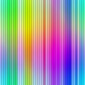 Bright vibrant multicolored abstract graduated stripes.