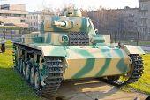 Постер, плакат: Средний танк Германии T3