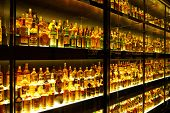 EDINBURGH, SCOTLAND - JULY 10:  Diageo Claive Vidiz collection, the largest Scotch Whisky collection