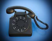 Retro telephone - gone, vintage technology