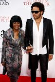 NEW YORK-AUG 5: Actress Cicely Tyson (L) and musician Lenny Kravitz attend the premiere of Lee Danie