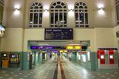 Entrance Hall Of Schwerin Railway Station