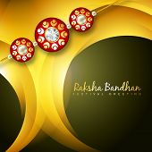 pic of rakhi  - stylish rakhi background with space for your text - JPG