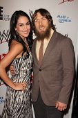 LOS ANGELES - AUG 15:  Brie Bella, Daniel Bryan at the Superstars for Hope honoring Make-A-Wish at t
