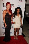 LOS ANGELES - AUG 15:  Eva Marie, Jojo at the Superstars for Hope honoring Make-A-Wish at the Beverly Hills Hotel on August 15, 2013 in Beverly Hills, CA