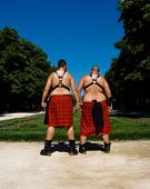 Masochist Scots In Madrid Gay Pride Day