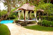 peaceful relaxing territory on balinese resort